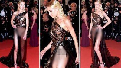 LHP Cannes liên tiếp chứng kiến vô số trang phục hớ hênh