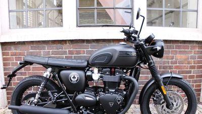 Môtô Triumph 1.200cc, sản xuất giới hạn 1.400 chiếc, giá gần 300 triệu
