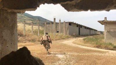 Quân nhân Nga tham chiến trên chiến trường tây nam Idlib, Syria