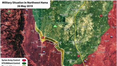 Chiếm chảo lửa Kafr Naboudeh, quân đội Syria diệt hàng trăm phần tử thánh chiến