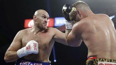 Tyson Fury tung đòn hạ chóng vánh đối thủ người Đức