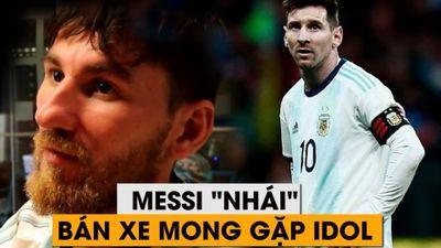 Messi 'nhái' bán xe mong gặp Messi thật tại Copa America