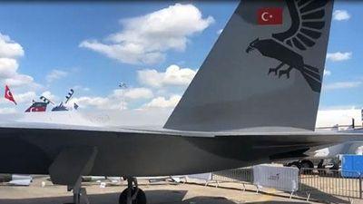 CLIP: Thổ Nhĩ Kỳ hé lộ tiêm kích tàng hình TF-X mới