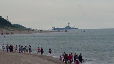 NATO tập trận, thủy thủ Ba Lan sơ suất làm hỏng tàu chiến