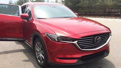 Mazda CX-8 'lộ hàng' tại Việt Nam, giá từ 1,1 tỷ đồng