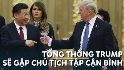 Tổng thống Trump sẽ gặp Chủ tịch Tập Cận Bình tại G20, nhen nhóm hy vọng hòa giải thương mại