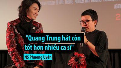 Nhạc sĩ Phương Uyên: 'Quang Trung hát còn tốt hơn nhiều ca sĩ'