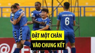 Tiến Linh ghi bàn, Becamex Bình Dương nắm lợi thế ở AFC Cup