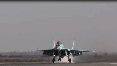 CLIP: 'Chiêm ngưỡng' máy bay chiến đấu mới nhất của không quân Nga