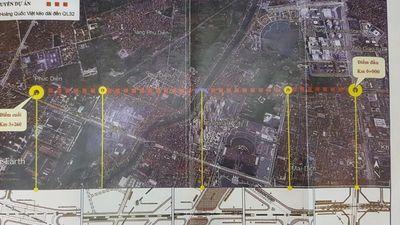 Clip: Toàn cảnh dự án đường nghìn tỷ giữa Thủ đô 'phá' quy hoạch khu tái định cư
