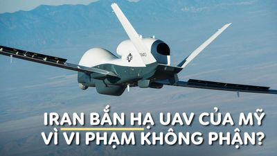 Iran bắn hạ UAV quân sự của Mỹ tại vùng Vịnh