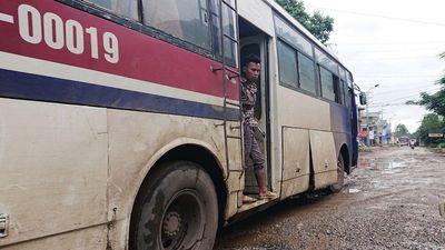 Cận cảnh 'tuyến đường đau khổ' nhất Bắc Giang