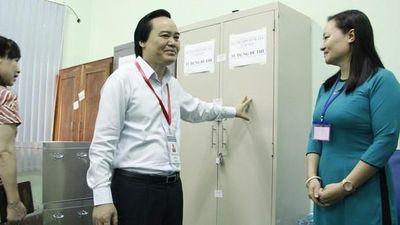 Bộ trưởng Phùng Xuân Nhạ: Bài thi điểm cao bất thường phải kiểm tra lại