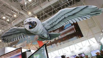 Nga tiết lộ máy bay không người lái siêu độc hình cú mèo