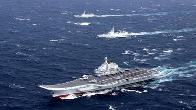 Tàu sân bay Trung Quốc rời Biển Đông, qua eo biển Đài Loan