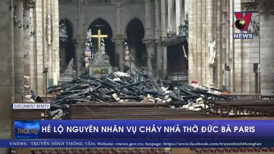 Hé lộ nguyên nhân vụ cháy Nhà thờ Đức Bà Paris