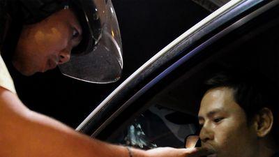 Tài xế vi phạm nồng độ cồn: 'Tôi vẫn thấy tỉnh táo'