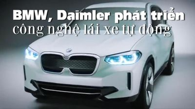 BMW, Daimler hợp tác phát triển công nghệ lái xe tự động