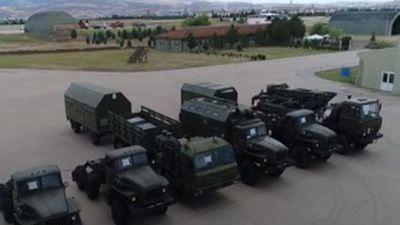 Clip: Cận cảnh lô 'rồng lửa' S-400 đầu tiên Nga chuyển cho Thổ Nhĩ Kỳ