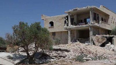 CLIP: Hiện trường vụ không kích của Nga khiến 8 thường dân Syria thiệt mạng