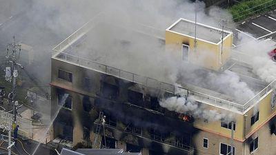 Cháy lớn bao trùm xưởng phim hoạt hình nổi tiếng ở Nhật Bản