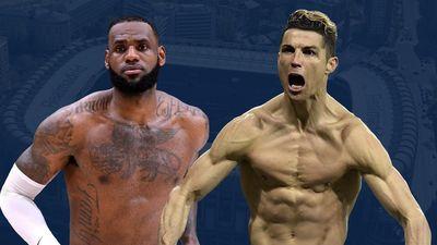 Ronaldo và LeBron James vẫn ngự trị đỉnh cao ở tuổi 34