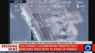 Tehran tung video tố Mỹ nói sai sự thật vụ bắn rơi máy bay Iran