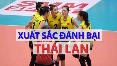 Việt Nam thắng Thái Lan, giành HCĐ bóng chuyền nữ U.23 châu Á