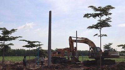 Công trình ở khu đất bị cưỡng chế liên quan Alibaba