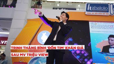 Trịnh Thăng Bình 'đốn tin' khán giả sau MV triệu view