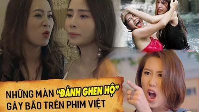Ba màn 'đánh ghen hộ' trên phim Việt khiến khán giả hả hê, thích thú