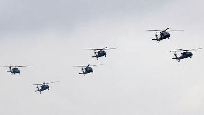 Mỹ vô tình lộ nhiệm vụ bí mật của dàn trực thăng quần thảo giữa thủ đô