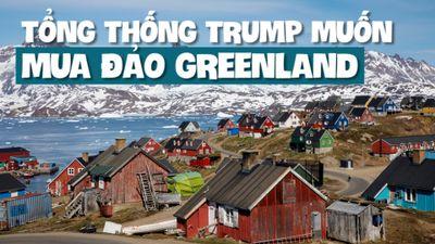 'Tìm cách mua' đảo Greenland, tổng thống Trump bị chế giễu