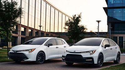 Cận cảnh Toyota Corolla Nightshade Edition 2020 giá hơn 500 triệu đồng