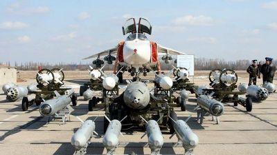 Xem 'kiếm sĩ' Su-24M Nga phô diễn sức mạnh vô song