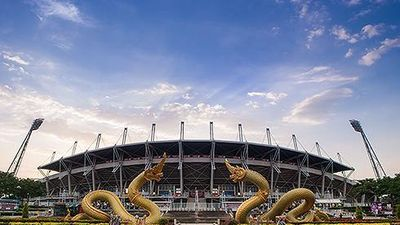 Toàn cảnh SVĐ Thammasat: Nơi Thái Lan đối đầu với Việt Nam tại vòng loại World Cup 2022