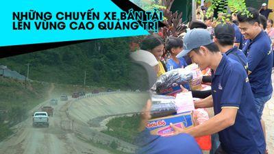 Đoàn xe bán tải 'rồng rắn' chở hàng từ thiện lên vùng cao Quảng Trị
