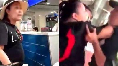 Cô gái quay clip khách nữ xúc phạm nhân viên hàng không bị dọa tung ảnh sex
