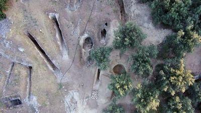 Kinh ngạc mộ cổ 3.400 năm kẻ trộm không thể dòm ngó