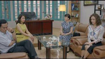 Những nhân viên gương mẫu tập 9: Nguyệt 'thảo mai' trở thành 'người phán xử' cho 2 bà vợ của sếp
