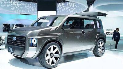 'Xế lạ' Toyota Tj Cruiser hoàn toàn mới sắp ra mắt
