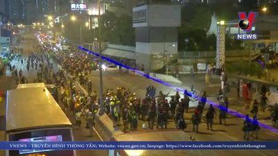 Hong Kong (Trung Quốc) lên án hành động bạo lực của người biểu tình