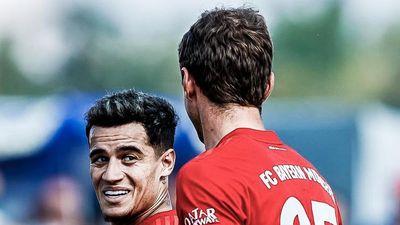 Coutinho ghi bàn đầu tiên cho Bayern