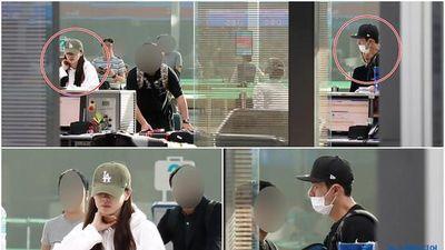 Bắt gặp Hyun Bin - Son Ye Jin ở sân bay, Jungkook (BTS) gây sốt với hình xăm 'Army'