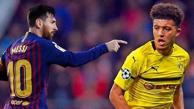 Jadon Sancho - sao trẻ chia tay Man City và có thể thách thức Messi