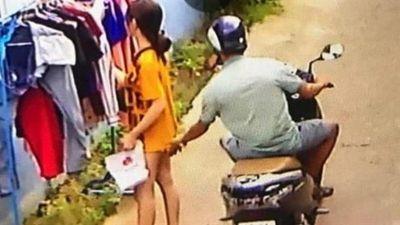 Phạt nghiêm 200 ngàn kẻ sờ bậy thiếu nữ phơi đồ