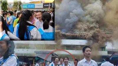 Trường Smk ST Michael cháy lớn, nhiều học sinh vui sướng: Sự vô cảm đáng sợ!