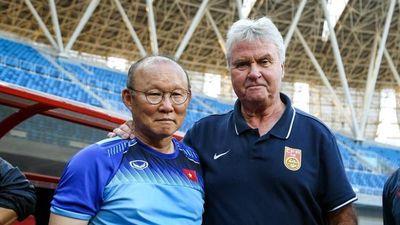 Hiddink rời U22 Trung Quốc sau trận thua U22 Việt Nam
