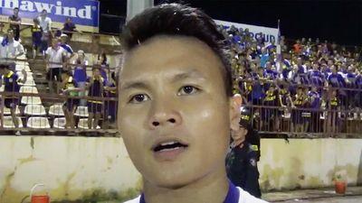 Quang Hải: 'Em sẽ gửi ảnh cho Văn Hậu'