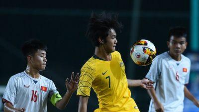 Cầu thủ gốc Việt cùng Australia đánh bại U16 Việt Nam